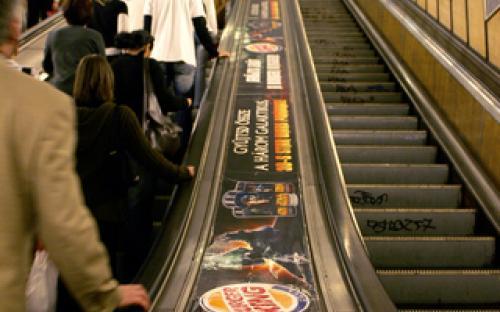 Balusztrád reklám